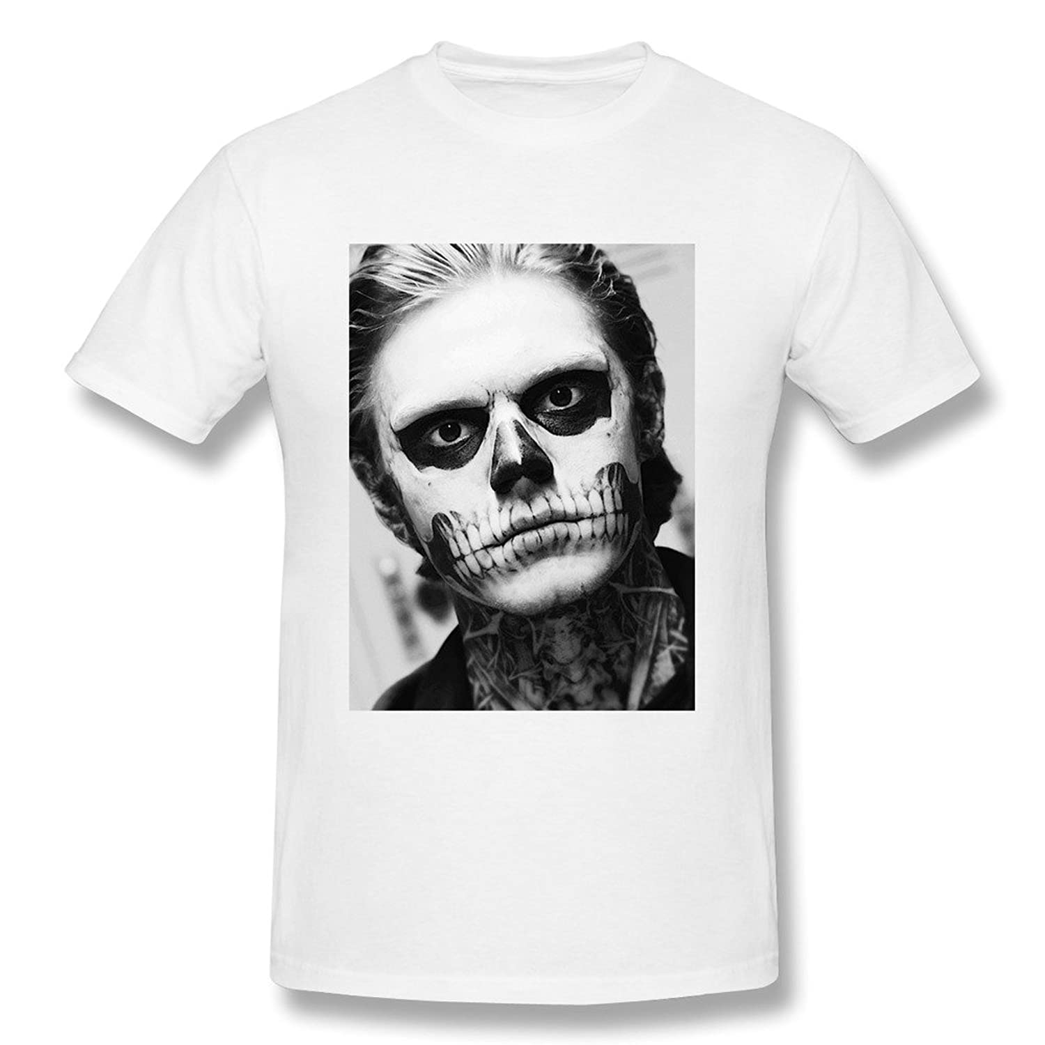 New Lifestyle Men's Evan Peters Short Sleeve Tshirts