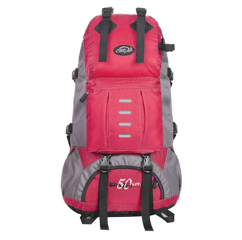 E  GFQ Sac à Dos de randonnée en Plein air de 55 L Sac de Sport de Loisir Sacs d'alpinisme Sac à Dos de Sport