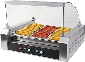 Generic LQ..8..LQ..1240..LQ ler Gri 11 Roller Grill cial 30 30 Hot Dog ker Cooker Machine W/ hine W/ New Commercial New cover CE New US6-LQ-16Apr15-3147
