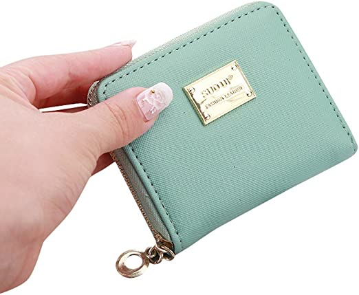 Fashion Ladies Designer Flap Coin Wallet Womens Purse Card Holder Pouch