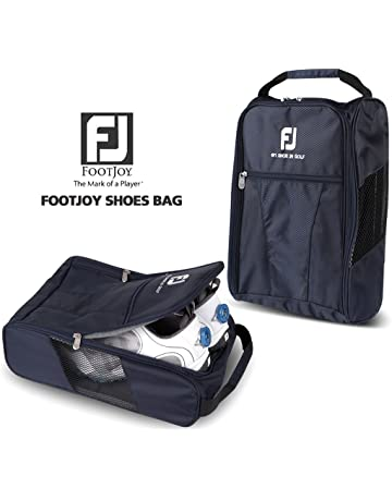 40af93e71386 FootJoy Genuine Golf Shoes Bag Zipped Sports Bag Shoe Case - Navy Color