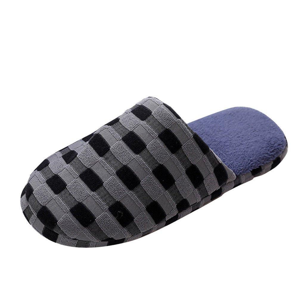 Herren Damen Winter Hausschuhe Wä rme Baumwolle Pantoffeln Rutschfeste Slippers Warme Winter Haus Schuhe Indoor Home Hausschuhe. Saihui