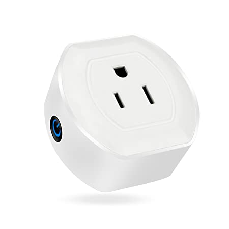 Martin Jerry Mini Wifi Smart Plug Works with Alexa, Google Home, Smart Home Devices to Control Home Appliance from Anywhere, no Hub Required, Wifi Smart Socket V04 1 Pack