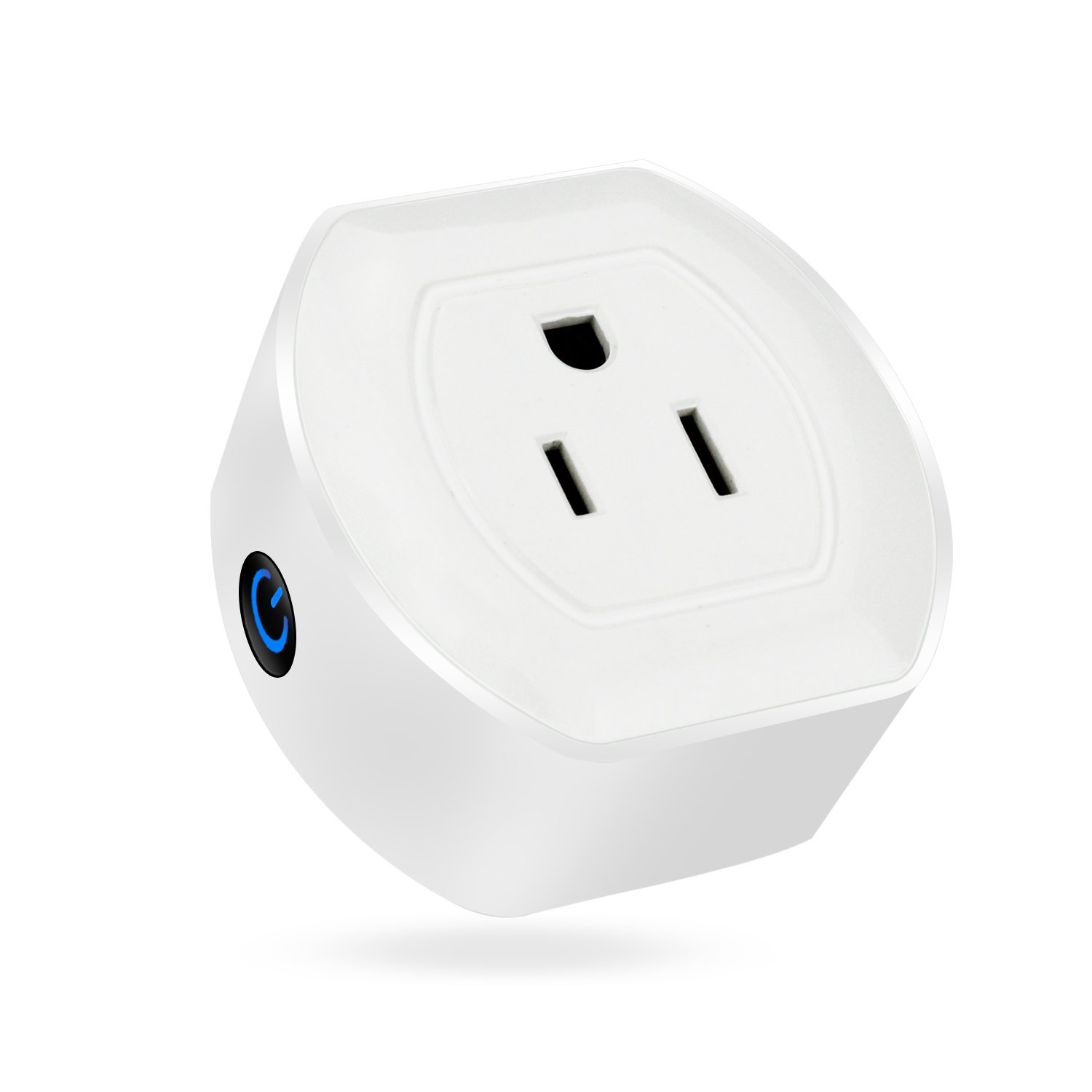 Martin Jerry Mini Wifi Smart Plug Works with Alexa, Google Home, Smart Home Devices to Control Home Appliance from Anywhere, no Hub Required, Wifi Smart Socket (V04) (1 Pack)