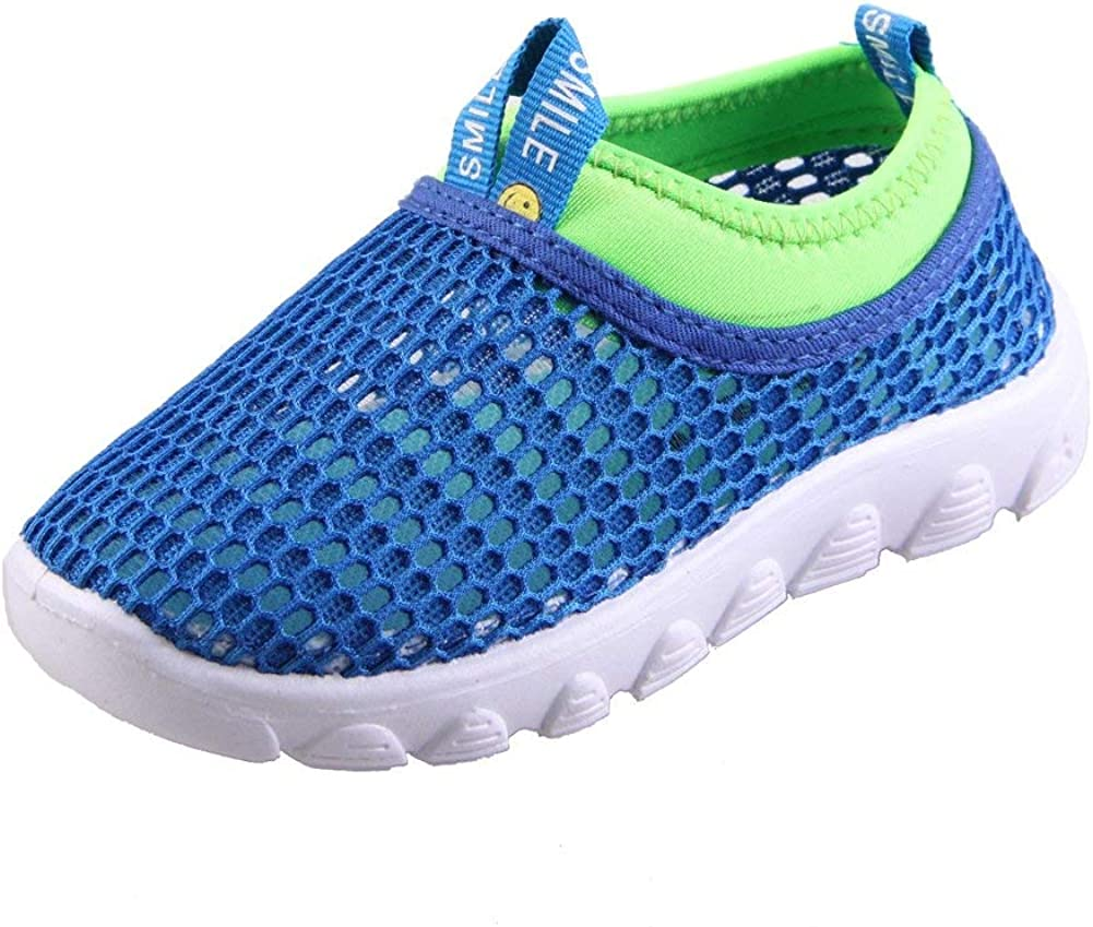 Toddler//Little Kid CIOR Kids Shoes Slip-on Breathable Mesh Sneakers Water Shoes for Running Pool Beach