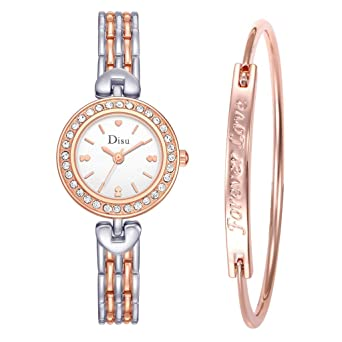 b0c172cbe46 KaloryWee Montre Femme Bracelet Pas Cher Fashion La Mode Luxe Bandage Watch  Chaîne Large Alliage Bandage
