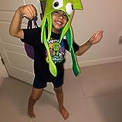Amazon.com: Novedad Verde Calamar Pulpo Hat Costume Party ...