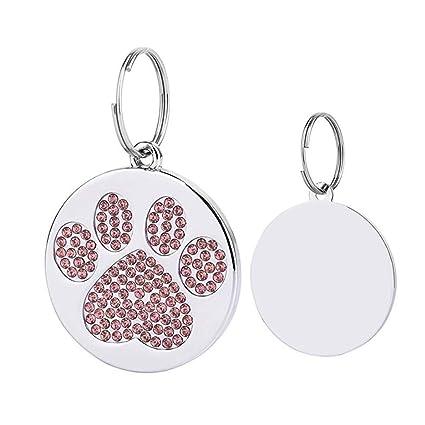 Danigrefinb - Placa identificativa para Mascotas, con ...