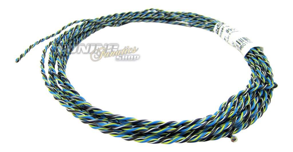 Kabel FLRy 0,35mm/² 5m Fahrzeugleitung CAN BUS Signale Kupfer Litze Auto 1,37EUR//m