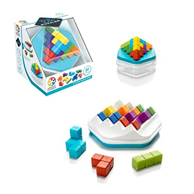 SmartGames Zig Zag Puzzler - A Skill-Building 3D Puzzle Game with 2 Play Modes for Ages 12 - Adult: Toys & Games