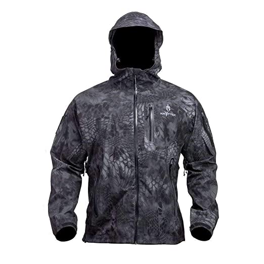 c330fe17a7135 Kryptek Koldo Camo Rain Jacket (Rain Gear Collection), Typhon, XS