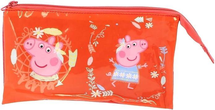 Copywrite Europe Group S.A Estuche 3 Compartimentos de Peppa Pig: Amazon.es: Juguetes y juegos
