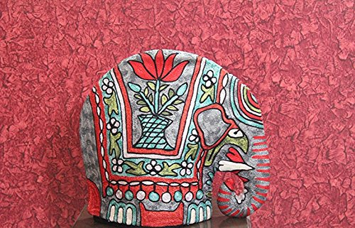 Elephant Quilted Tea Cozy/Embroidered French press cosy/Teapot/cafetiè re/coffee plunger/kettle/percolator/server/pot/carafe/animal cozy/*** Free Delivery***