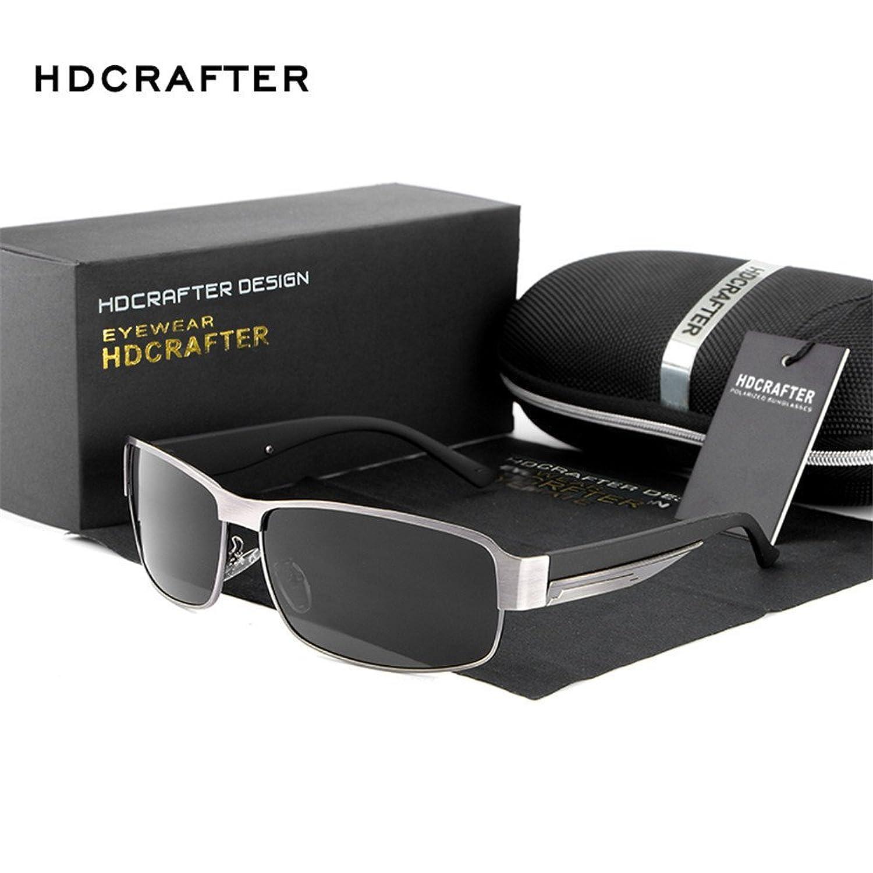 Lnabni Polarized Outdoor Sports Sonnenbrille Herren Brille Klassische Kleine Rahmen Fahren Brillen 100% UV-Schutz