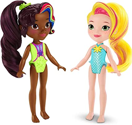 Nickelodeon Sunny Day Mini Doll Bath Time *ROX* Brushable Ponytail New