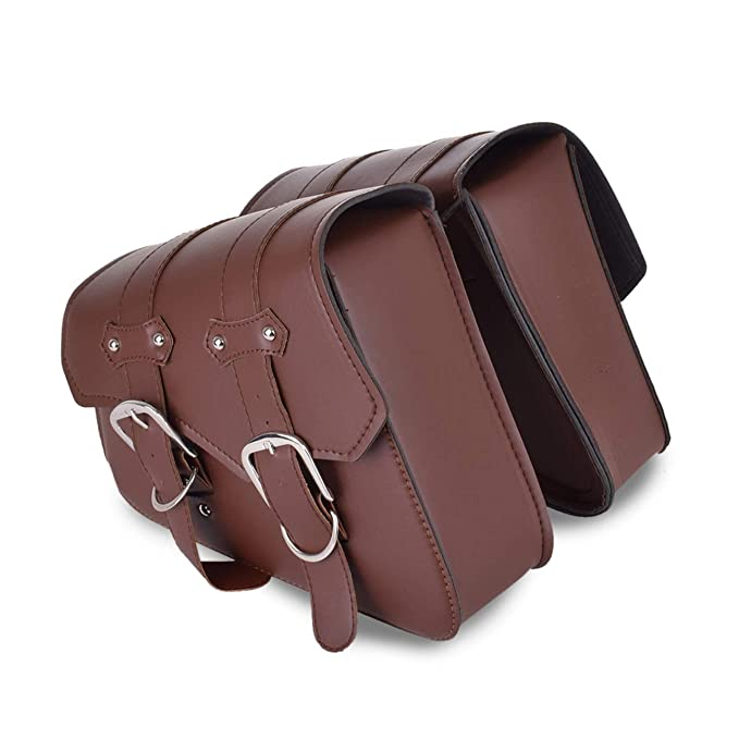Amazon.com: SOMITI | Leather & Saddle Bags | Brown ...