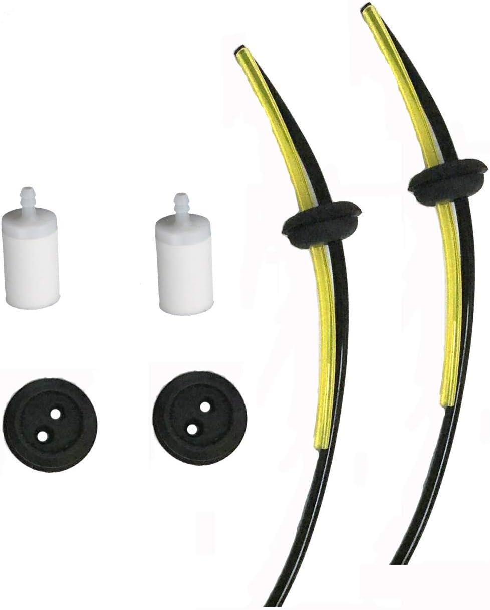 2 Fuel Line Assembly /& Fuel Filter For RedMax  EBZ6500 EBZ7500 EBZ8500 579138304