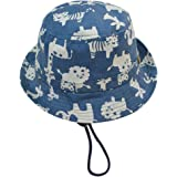 Biwinky Unisex Baby Sun Hat Kids Animal Printing Fisherman Caps