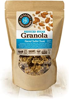 product image for Reduced Sugar Almond Butter Chunk Granola