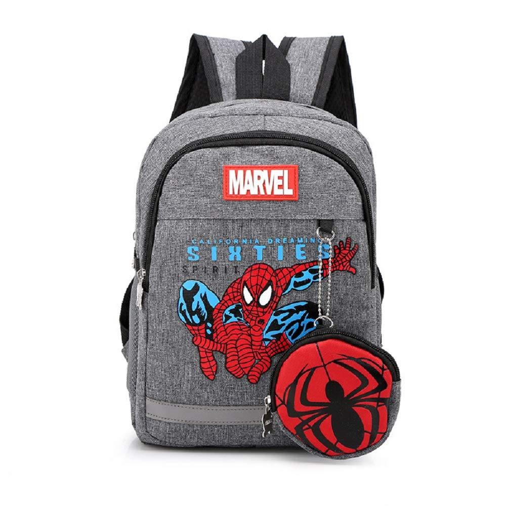 Avengers Toddler Backpack; pendant pocket Waterproof