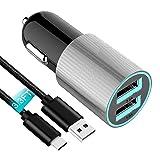 Fast USB C Car Charger Compatible Asus Zenfone 5Z