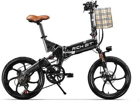 RICH BIT ZDC RT-730 Bicicleta eléctrica Plegable de 20 ...