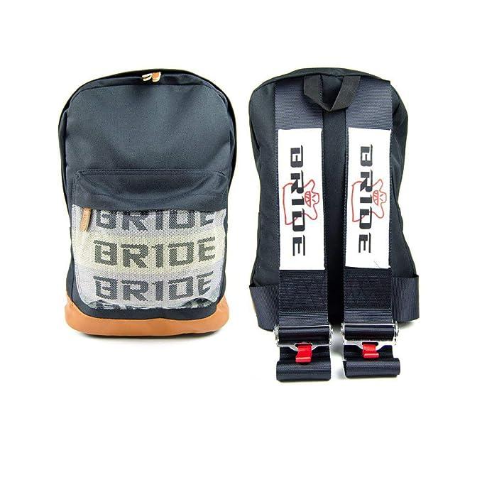 Amazon.com: HeyDreamer JDM Racing Bride Mochila arnés ...
