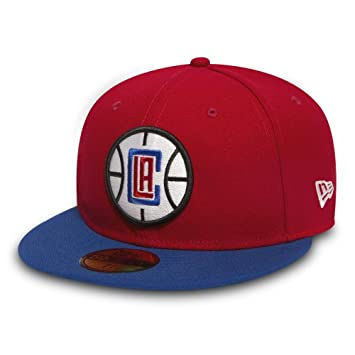 reputable site 9d3e3 9f90f New Era Los Angeles Clippers 2-Tone Team 59FIFTY NBA Hat 7 1 2