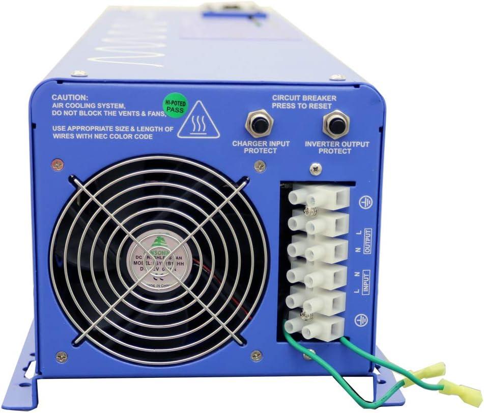 PICOGLF40W24V120V 4000W Pure Sine Inverter Charger AIMS Power