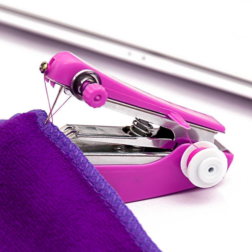 Chiak New Stitch Travel Household Electric Portable Mini Handheld Sewing Machine Sewing Machin Presser Feet
