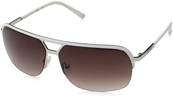 Guess GF0159_24B Gafas de sol, Blanco (Bianco), 65 para ...