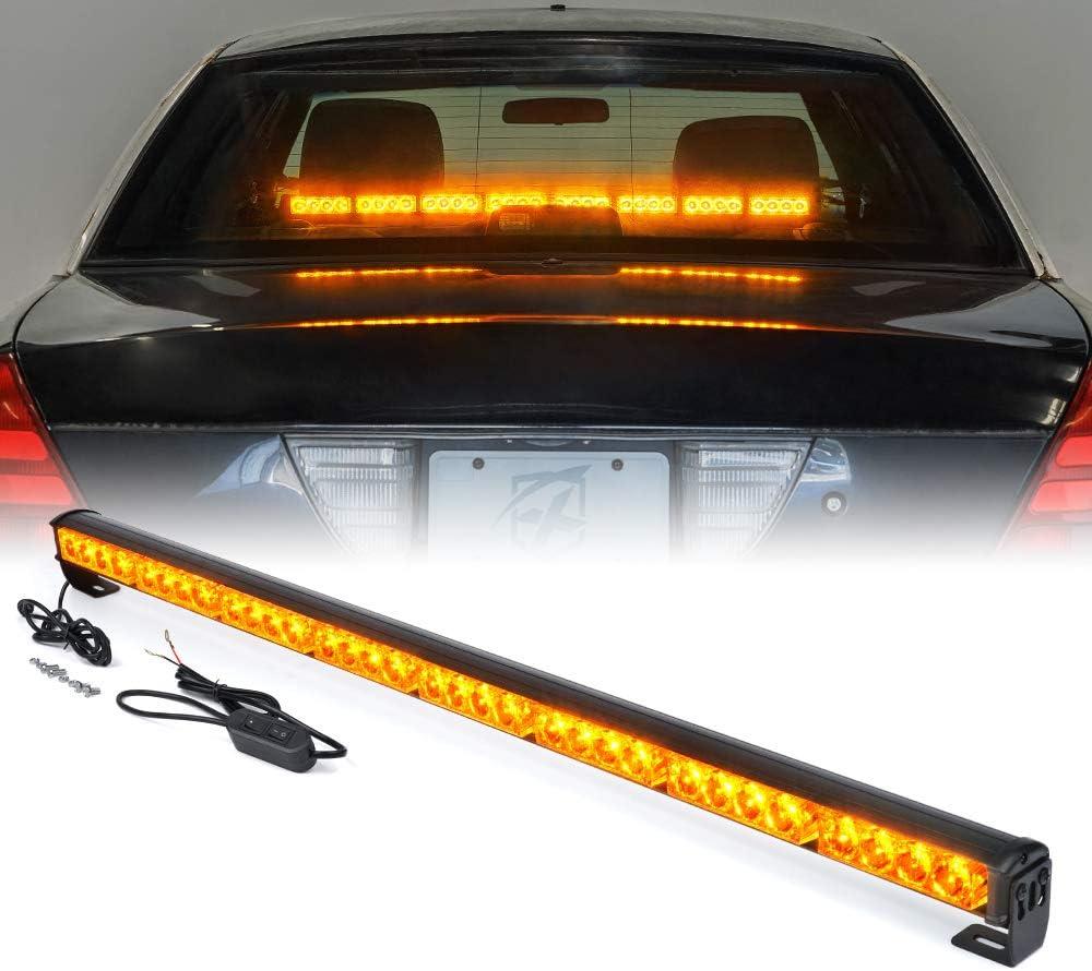 35/'/' 32 LED Car Emergency Warning Flash Strobe Bar Traffic Advisor Light Lamp