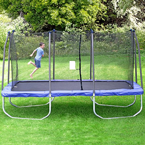 Skywalker Trampolines Rectangle Trampoline With Enclosure