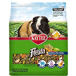 Kaytee Fiesta Guinea Pig Food, 4.5-lb bag