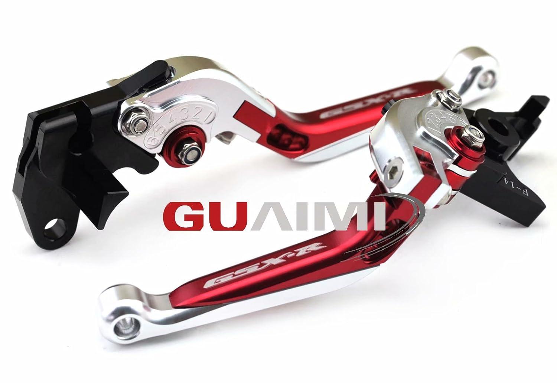 Moto Set leve freno e frizione pieghevole espandibile per GSX-R600 1997-2003 GSX-R750 1996-2003 GSX-R1000 2001-2004