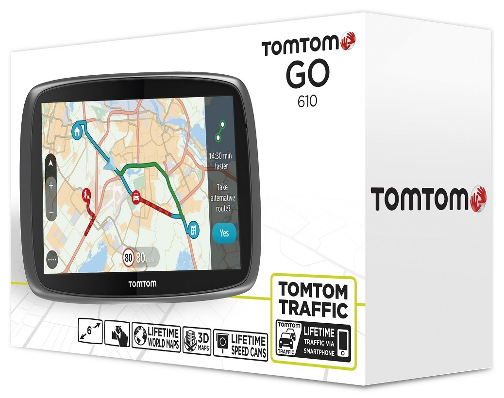 Резултат с изображение за TOMTOM GO 610 WORLD