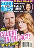 Joshua Morrow, Michelle Stafford, Young and the Restless, Lesli Kay, Adrian Bellani, Best & Worst of 2005 - March 21, 2006 Soap Opera Digest Magazine