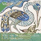 V&A - William de Morgan Wall Calendar 2019 (Art Calendar)