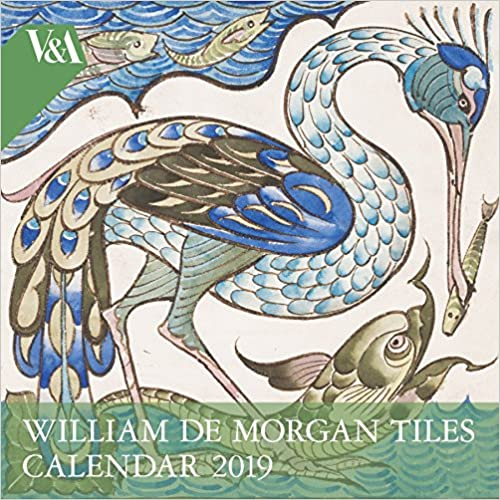 V&a - William De Morgan 2019 Calendar