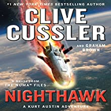 Nighthawk: The NUMA Files, Book 14 Audiobook by Clive Cussler, Graham Brown Narrated by Scott Brick