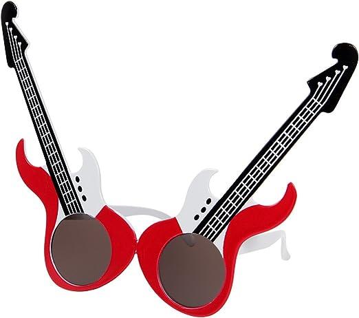 Alsino Gafas de sol Fun Gafas Partido Gafas E de guitarra 07 ...