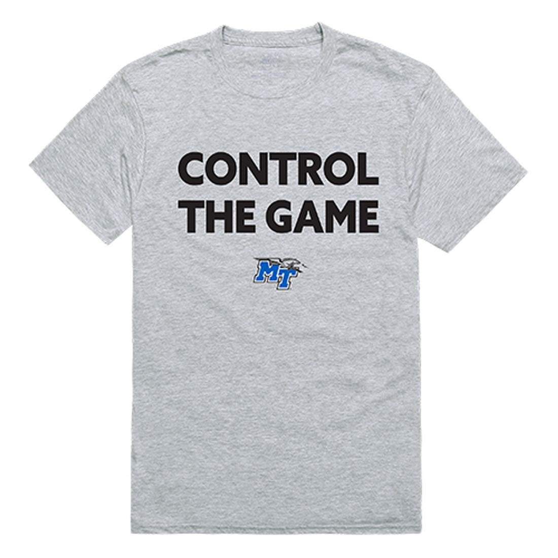 Mtsu Middle Tennessee State University S Ctg Tee Control The Game T Shirt