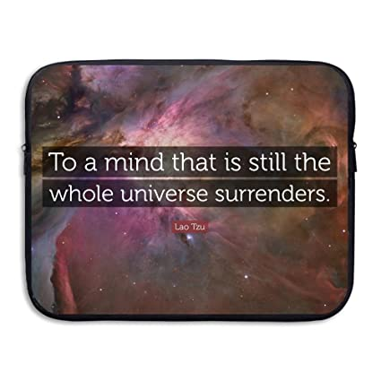 1cc8ccb29319 Amazon.com : Chenhc Laptop Bag Computer Slim Liner Cover Quote Fancy ...