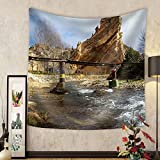 Niasjnfu Chen Custom tapestry Scenic Landscape at Autol Logrono Castilla Y Leon Spain - Fabric Wall Tapestry Home Decor