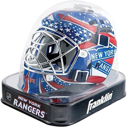Franklin Sports NHL League Logo New York Rangers Mini Goalie Mask