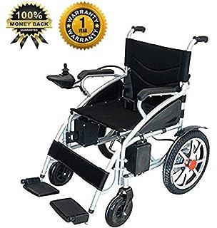 Amazon.com: Eléctrica Ligera, plegable movilidad silla de ...