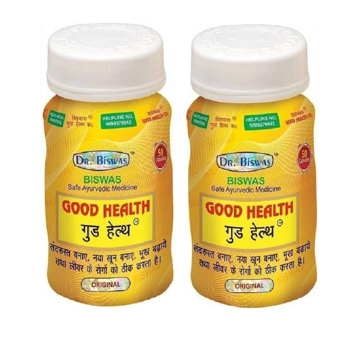 Good Health Safe Ayurvedic Capsules (Pack of 2) (50X2)