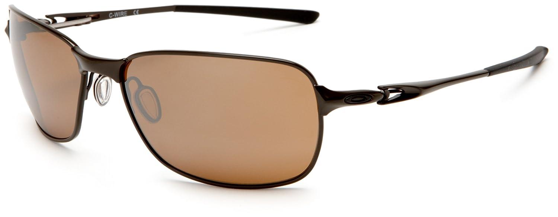 bdcb5c991eb56 Amazon.com  Oakley Men s C Wire OO4046-05 Oval Sunglasses