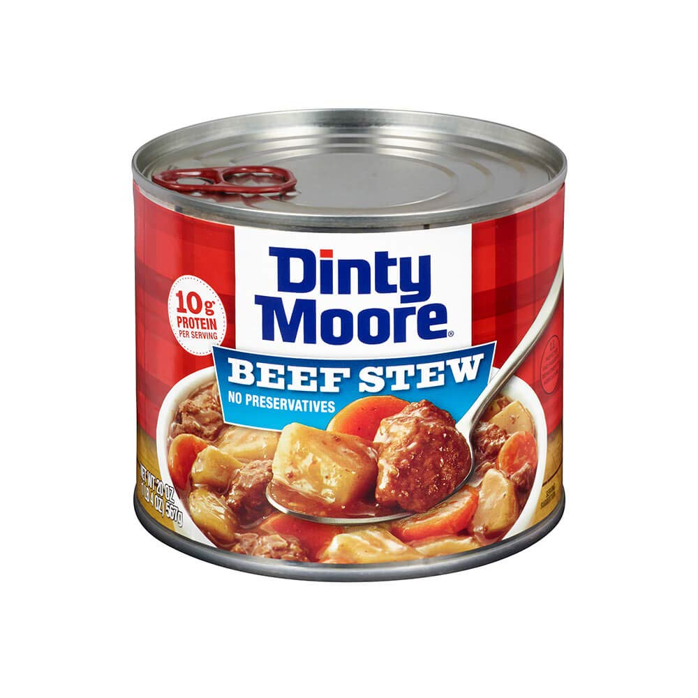 Dinty Moore Beef Stew with Fresh Potatoes & Carrots 20 oz (Pack of 12) by Dinty Moore