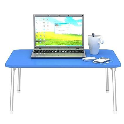 Escritorio plegable de la manera del ordenador portátil, escritorio grande del estudio Mesa pequeña,